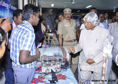 Our Student meets Abdul Kalam