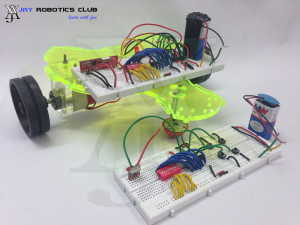 rf controlled robot